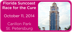 Suncoast Race for the Cure, October 11, 2014